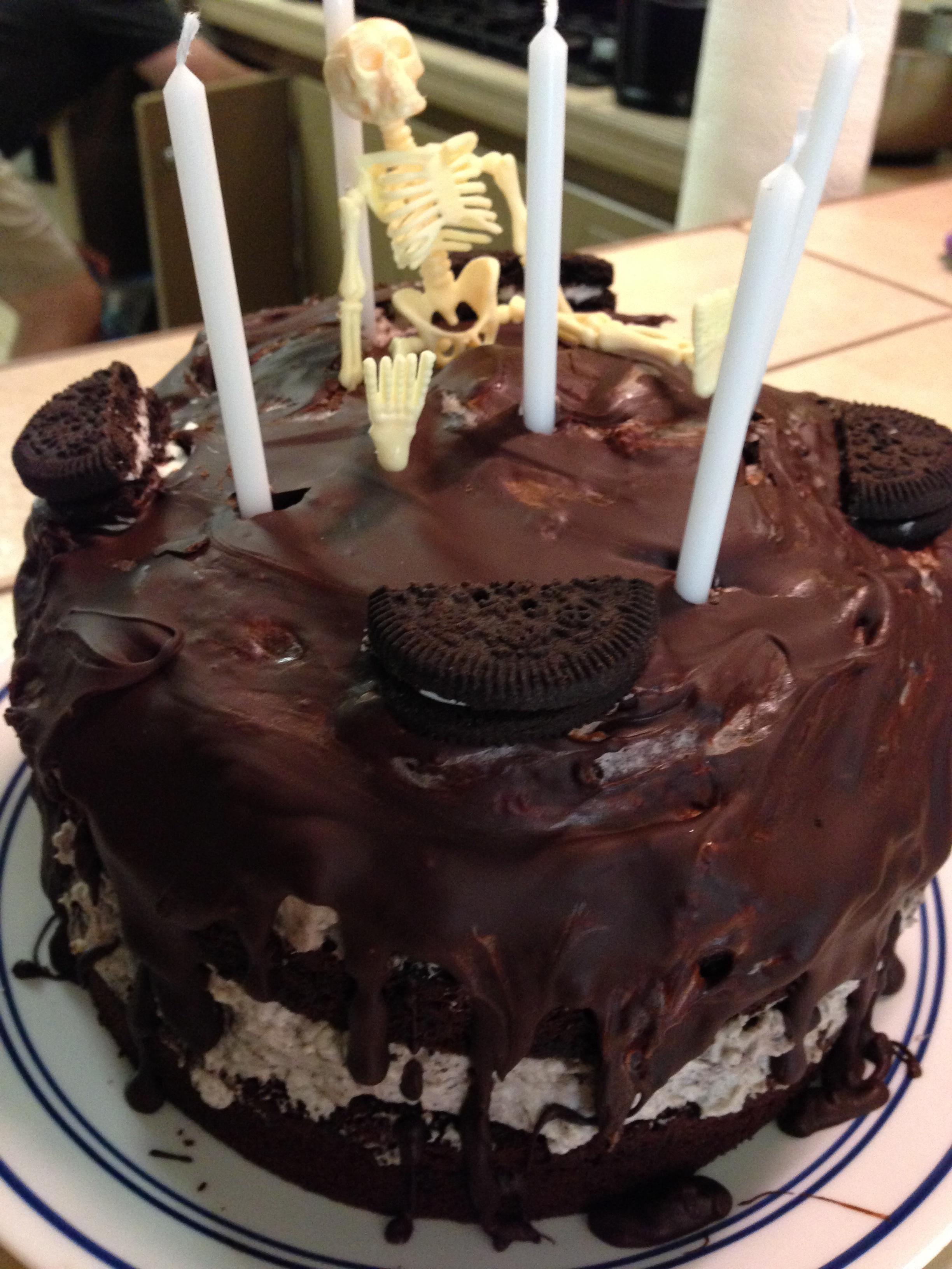 Gluten Free Oreo Birthday Cake Woo Woo Mommy
